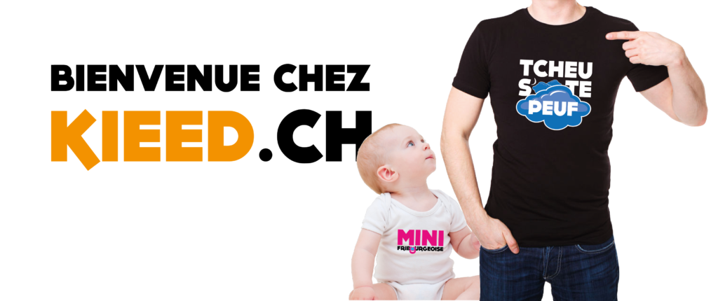 T-Shirt Kieed Marly Fribourg Sérigraphie